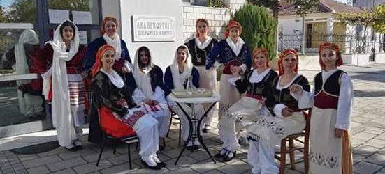 6o Αντάμωμα παραδοσιακών χορών από τον Πολιτιστικό κι Αθλητικό Σύλλογο Αγίου Γεωργίου Βόλου