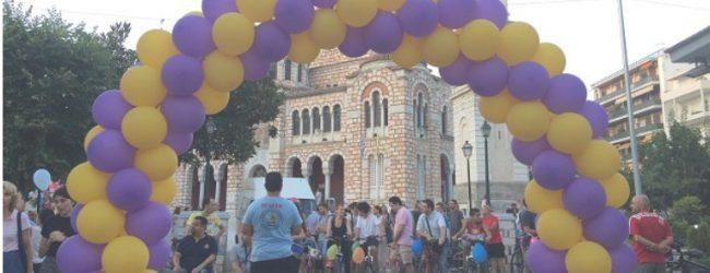 Ορθοπεταλιές αλληλεγγύης στον Βόλο [photos]