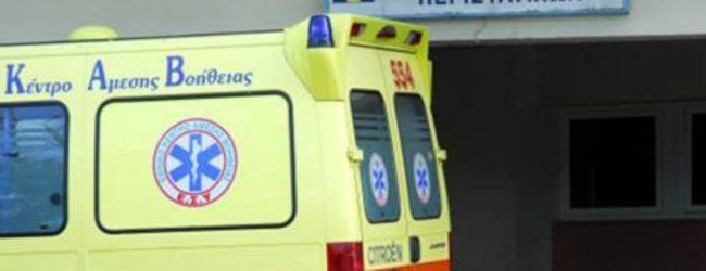 Λάρισα: Στο νοσοκομείο ζευγάρι μετά από ανατροπή τρακτέρ