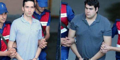 Τουρκία: Πάνε για δύο χρόνια φυλακή οι δύο Έλληνες στρατιωτικοί!