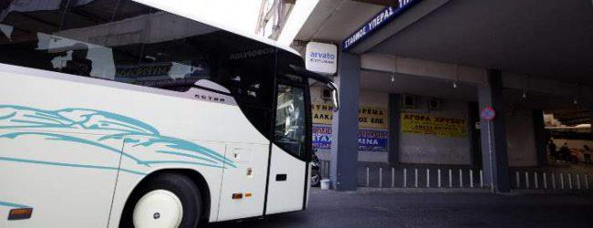 Ανετράπη λεωφορείο των ΚΤΕΛ στη Δράμα, 14 τραυματίες