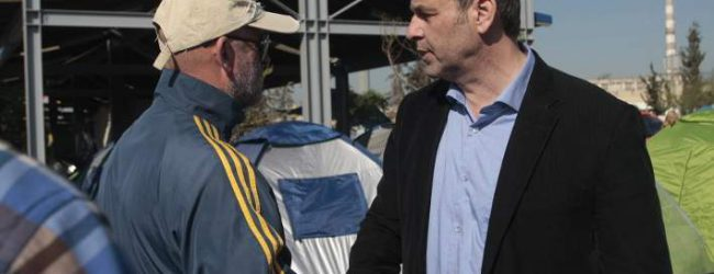 Αντιδρά ο Γκλέτσος στην εγκατάσταση προσφύγων σε τουριστική περιοχή της Στυλίδας
