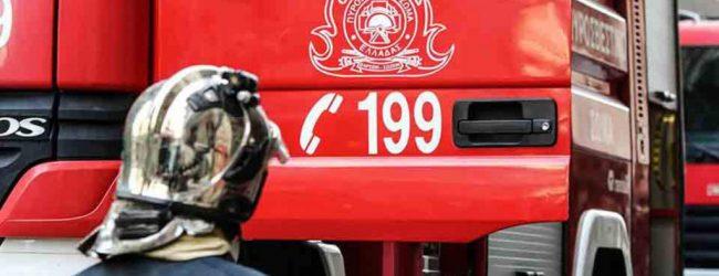 Αυτοκίνητο τυλίχθηκε στις φλόγες στο Πήλιο