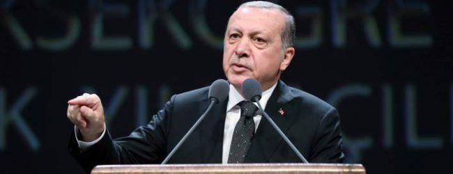 Νέα πρόκληση Ερντογάν: Μπήκαμε στην Κύπρο για να αποτρέψουμε τη σφαγή των Τούρκων από τους Ελληνοκύπριους