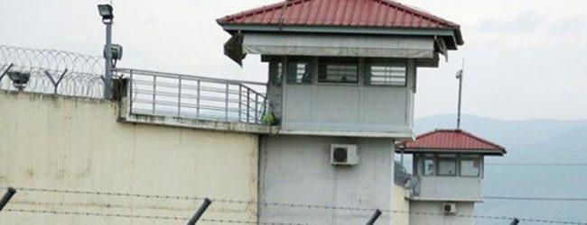 Kρατούμενος των φυλακών Τρικάλων κατέληξε στο Νοσοκομείο από οξεία μέθη