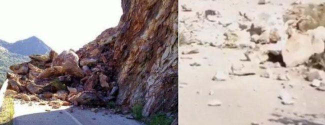 Οι πρώτες εικόνες μετά το σεισμό: Κατολισθήσεις στην Καρδίτσα, ρωγμές σε σπίτια, εγκλωβισμένοι (vid)