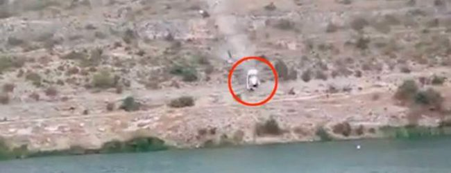 Τρομακτική σκηνή: Αυτοκίνητο πέφτει από γκρεμό σε τεχνητή λίμνη στην Ισπανία – Νεκρή μια 58χρονη (vid)