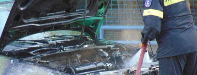 Τρίκαλα: «Λαμπάδιασε» ΙΧ στη μέση του δρόμου -Σώος ο οδηγός [βίντεο]
