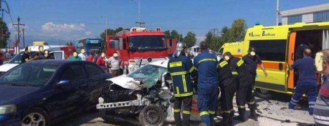 Τραγωδία έξω από την Καρδίτσα: Νεκρός 42χρονος σε μετωπική σύγκρουση αυτοκινήτων (photos)