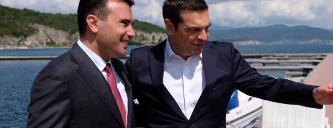 Σκόπια: Ο Ζάεφ πανηγυρίζει ότι κέρδισε σε 10 σημεία με τη «Βόρεια Μακεδονία»