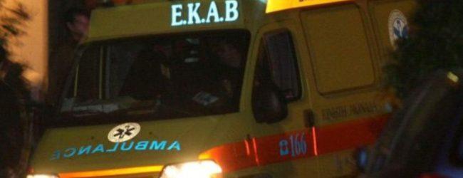 Τροχαίο με τέσσερις τραυματίες στη ΒΙ.ΠΕ. Βελεστίνου