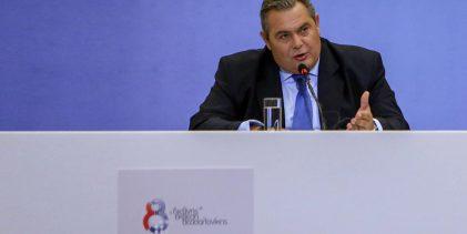 Καμμένος για Σκοπιανό: Θα αποσύρω την εμπιστοσύνη στην κυβέρνηση αν φέρει στη Βουλή τη συμφωνία