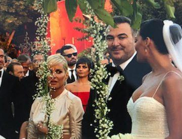 Αντώνης Ρέμος – Υβόννη Μπόσνιακ: Δείτε φωτογραφίες από το γάμο της χρονιάς
