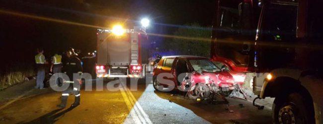 Δύο οι σοβαρά τραυματίες από το χθεσινοβραδινό σοβαρό τροχαίο στη Λάρισα -23χρονος στη ΜΕΘ
