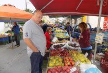 Στη λαϊκή αγορά της Ν. Ιωνίας ο Αχιλλέας Μπέος