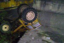 Τραυματίας από εκτροπή-ανατροπή τρακτέρ στην Τσαριτσάνη (φωτό)