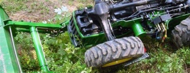 Αγρότης καταπλακώθηκε από το τρακτέρ του στα Τρίκαλα
