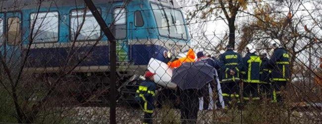 Σύγκρουση τρένου με αυτοκίνητο στη διάβαση του OLD CITY – Άφαντος ο οδηγός