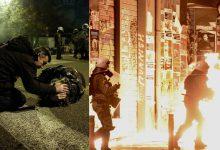 Δείτε LIVE: Φωτιές, μολότοφ και οδοφράγματα στα Εξάρχεια – Επεισόδια έξω από τη ΓΑΔΑ
