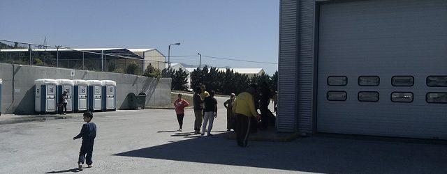 Διαμαρτυρία και «κλείσιμο» της δομής του ΜΟΖΑ στον Βόλο