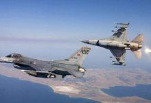 Μια εικονική αερομαχία και 26 παραβιάσεις του εναέριου χώρου από οπλισμένα τουρκικά μαχητικά